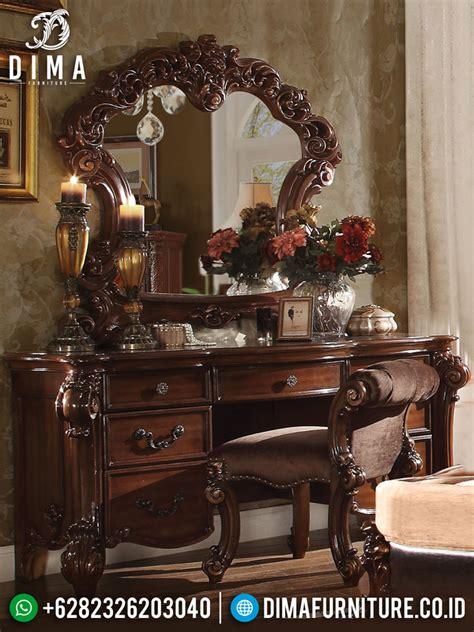 Meja Rias Jati Kartini meja rias mewah jepara terbaru cat duco putih set kamar