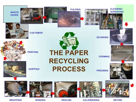 Paper Process Step By Step - recycling and proper waste management of plastics r cl denr