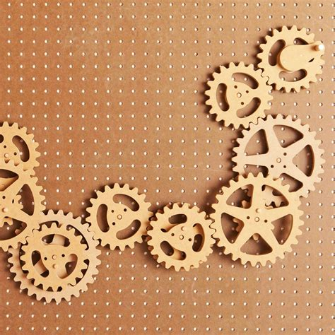 Home Decor Magazine Pdf scrollsawn gears woodworking plan from wood magazine