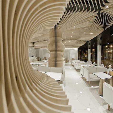 line interior design curved lines elements of design lighting