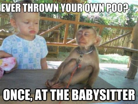 Babysitter Meme - funny baby monkey pictures with captions wallpaper sportstle
