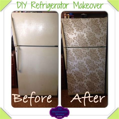 How To Make A Paper Refrigerator - best 25 fridge makeover ideas on diy decorate