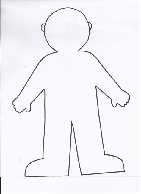flat stanley template blank flat stanley coloring page printable coloring pages
