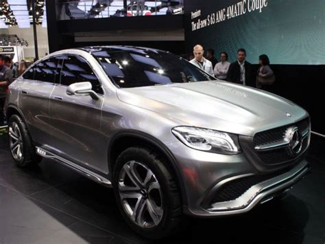 mercedes concept cars mercedes concept coupe suv unveiled cars co za
