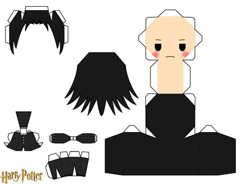 Harry Potter Papercraft Templates - severus snape by piercepapercraft on deviantart