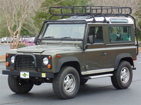 defender land rover 1997 1997 land rover defender 90 le for sale on bat auctions