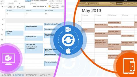 Calendrier Outlook Sur Iphone Synchroniser Un Iphone Un Et Un Ipod Avec Votre
