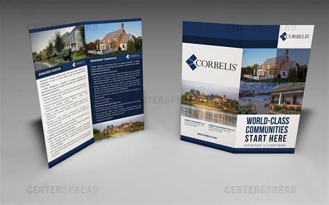 designcrowd templates professional serious brochure design design for garrett