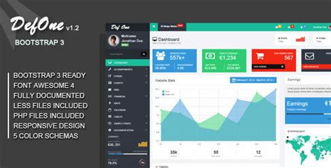 21 best web admin dashboard templates design webdesignboom