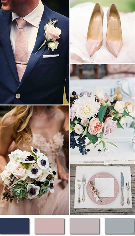 5 fall wedding colors for september brides