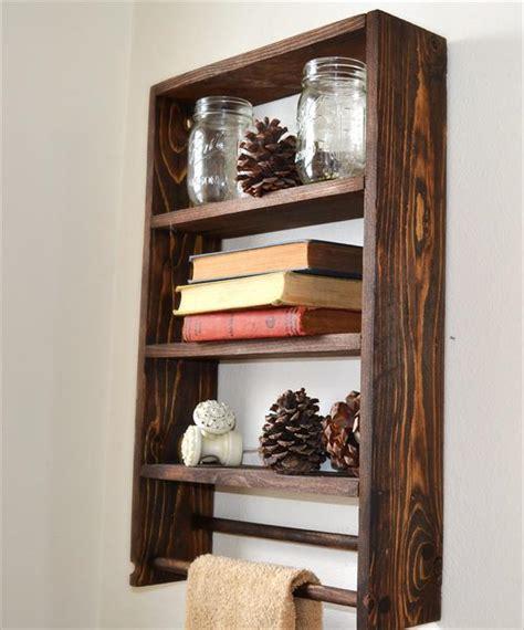 diy pallet wall shelf and coat rack pallet furniture plans