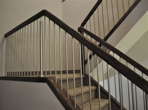 modern banisters for stairs simple modern stair railing kits railing stairs and