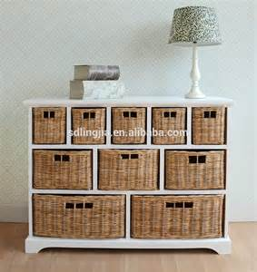Hobby Lobby Drawers by Deluxe White Wooden Unit Rattam Drawer Cabinet Furniture