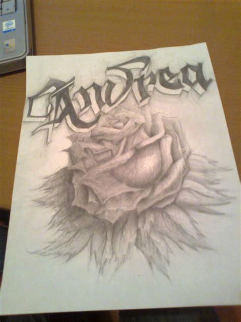 imagenes de una rosa para dibujar a lapiz una rosa para otra cabrona por rockerigm4 dibujando