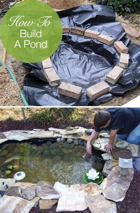 How To Build A Backyard Pond by Diy Water Garden Ideas 54 Pond Garden Ideas And Design Inspiration Diy Craft Ideas Gardening
