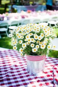 picnic centerpieces on pinterest picnic decorations
