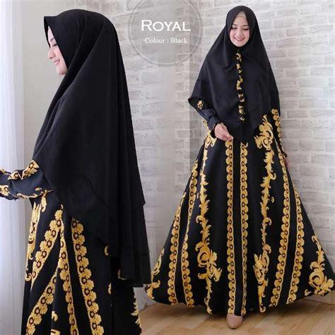 A Maxi Royal Syari baju muslim modern royal syari maxmara gamis pesta syar i