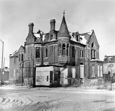 Ransom House by Ransom Gillis House History Detroit