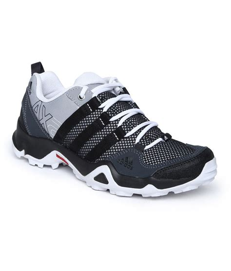 adidas black meshtextile sport shoes  men price