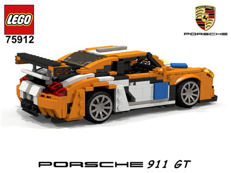 lego speed chions porsche 911 gt finish line 75912