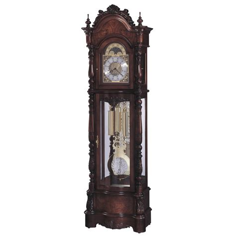 grandfather clock howard miller veronica floor grandfather clock windsor