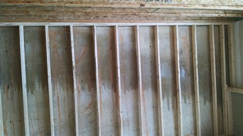 moisture on basement walls moisture on poured walls basement remodel remodeling