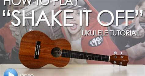 tutorial guitar rude mediocre musician ukulele tutorial how to play quot shake it