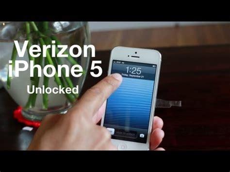 how to unlock iphone 5 verizon confirmed verizon iphone 5 is unlocked works on gsm 3g networks