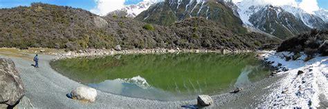 lago de barrera glaciar tasman nueva zelanda  flickr