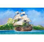Piratenschiff Black Swan &183 Zvezda Ma&223stab 172
