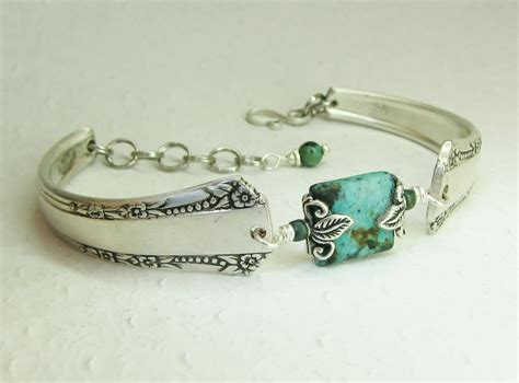 silver spoon jewelry silver spoon bracelet mar 1939 turquoise