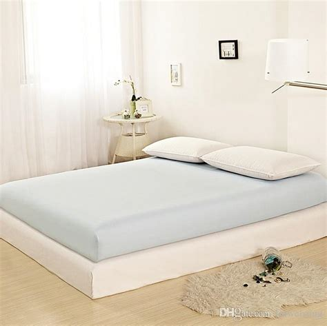 Sheets That Fit Memory Foam Mattress by 2017 Solid Color Fitted Sheet Memory Foam Mattress Topper