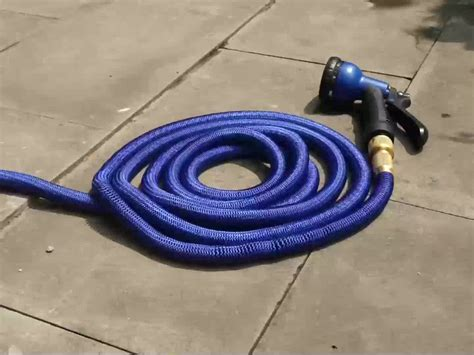 100 Real Latex Ggarden Hose Roll Up House Hold Garden