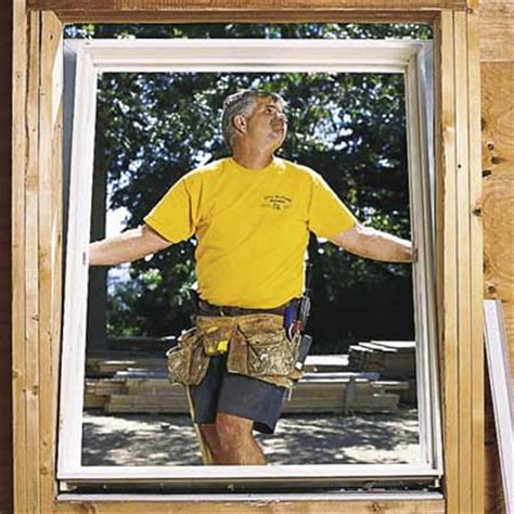 how to install house windows install the window how to install a window this old house