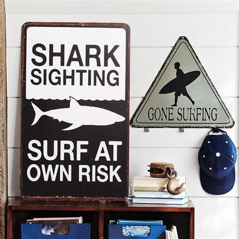 Surf Signs Decor by Metal Surf Signs