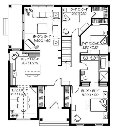 home plans floor plans simple house plans cottage house plans