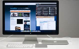 Desk Clutter The Apple Thunderbolt Display Review