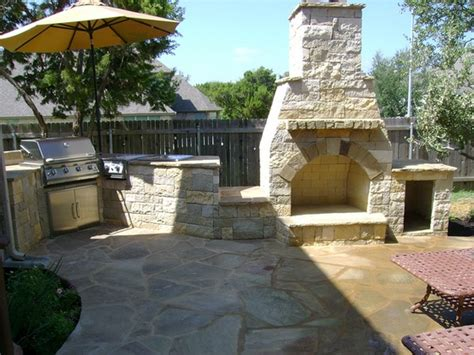 outdoor kitchen and fireplace designs outdoor fireplace 171 dh landscape design blog