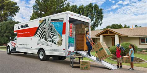 u haul moving truck atamu