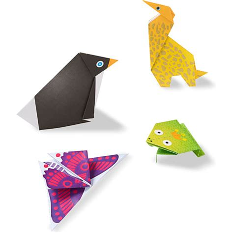 Origami On The Go - on the go crafts origami activity set animals the