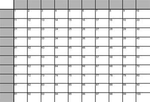 simple superbowl 100 squares grid as svg in adobe