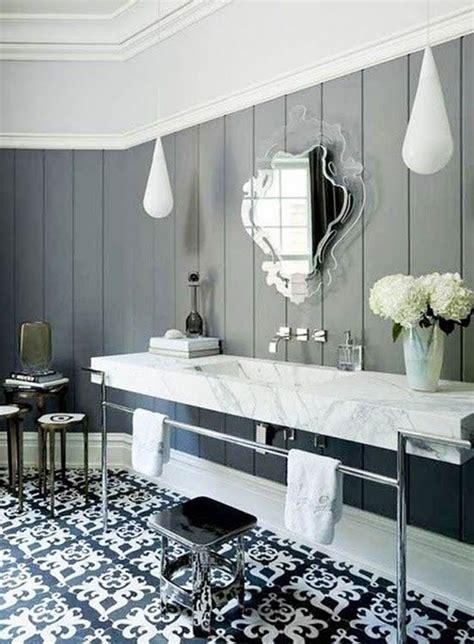 victorian black  white bathroom floor tiles ideas