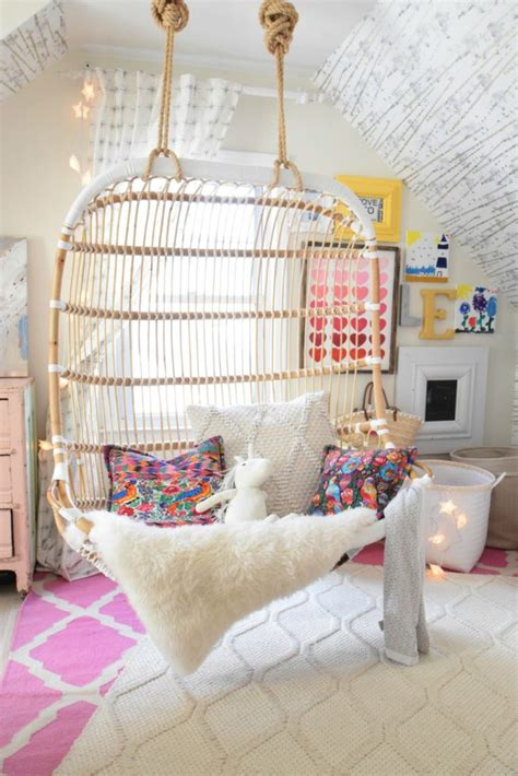 cool chairs for girls bedrooms love in the form of our new hanging chair nesting with grace