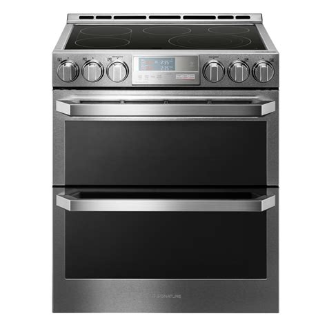 Stove With Oven whirlpool 6 4 cu ft slide in electric range with true