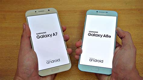 Samsung A7 Feb 2018 samsung galaxy a7 2017 vs galaxy a8 2016 speed test