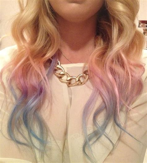 7 Tips For Dying Your Hair Brown by 25 Best Ideas About Dip Dye Hair On Dip Dye