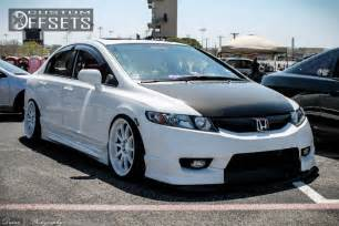 wheel offset 2011 honda civic hellaflush dropped 1 3