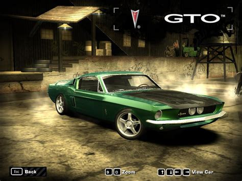 mod game nfs most wanted shelby gt500 need for speed most wanted skin mods