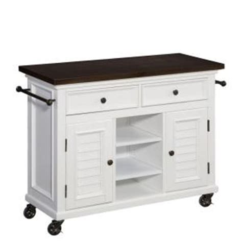 Home Depot Kitchen Carts by Home Styles 44 5 In W Antique Stainless Top Kitchen Cart