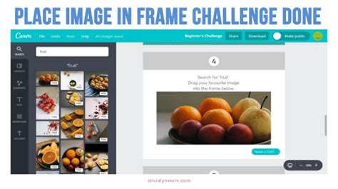 canva how to use frames how to use canva